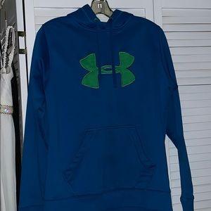 Under Armour. Hoodie/sweatshirt Large